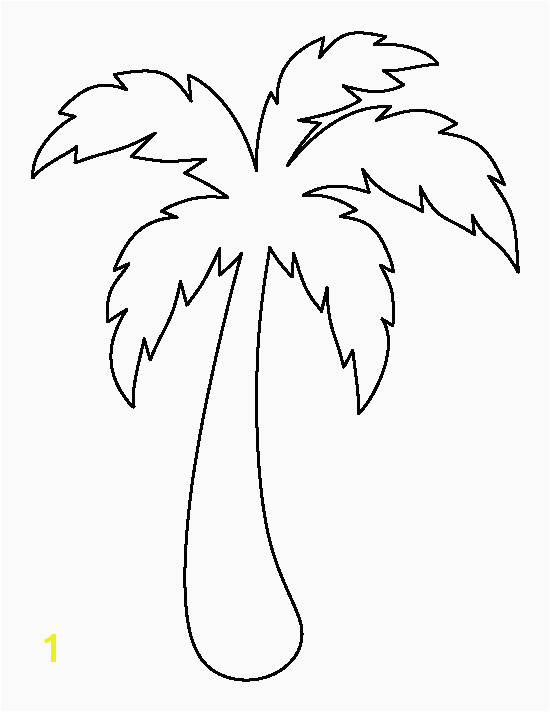 Tree Coloring Pages Inspirational Palm Tree Coloring Picture Inspirational Fall Coloring Pages 0d Page