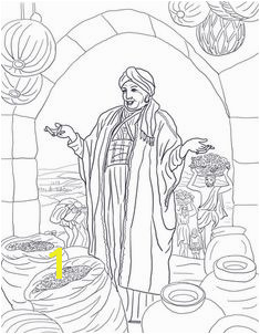 Parable of the Rich Fool coloring page from Jesus parables category Select from printable crafts of cartoons nature animals Bible and many more
