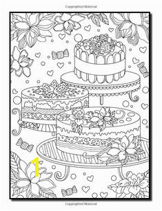 Amazon Delicious Desserts An Adult Coloring Book with Whimsical Cake Designs Easy Pastry Patterns and Beautiful Bakery Scenes for Relaxation and