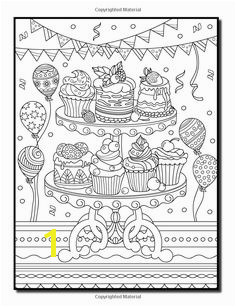 Amazon Delicious Desserts An Adult Coloring Book with Whimsical Cake Designs Lovely Pastry Patterns and Beautiful Bakery Scenes for Relaxation and