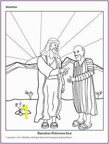 Barnabas Wel es Saul