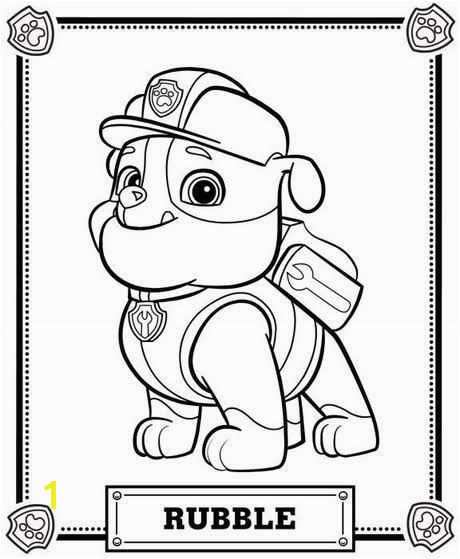 paw patrol printable Kids Colouring Colouring Pages For Kids Birthday Coloring Pages