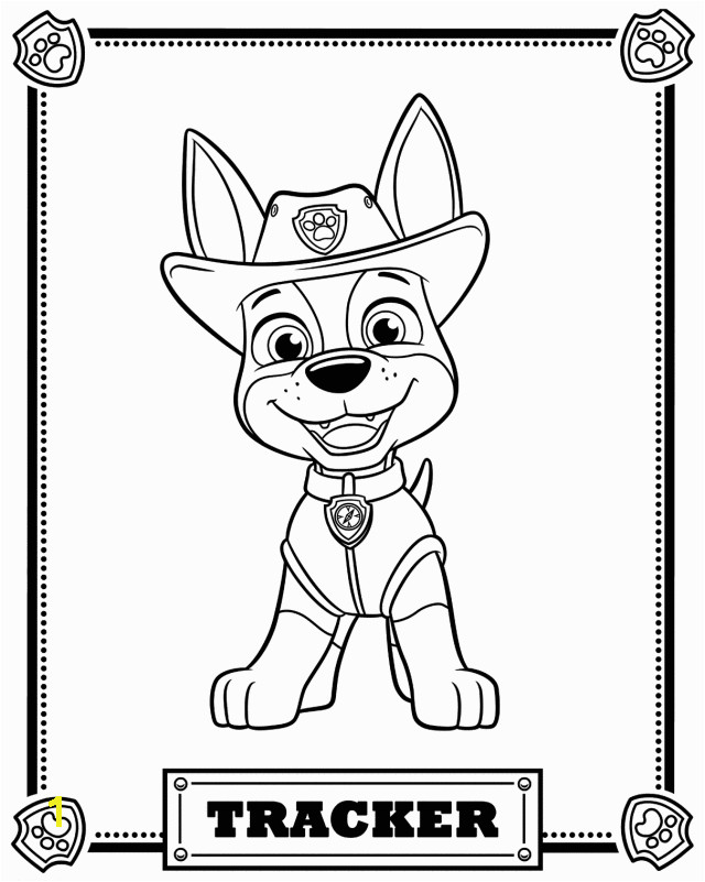 Paw Patrol Free Coloring Pages to Print top 10 Paw Patrol Coloring Pages