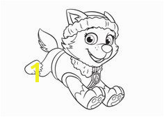 Everest Coloring Page PAW Patrol Nick Jr Coloring Pages Disney Coloring Pages Paw Patrol