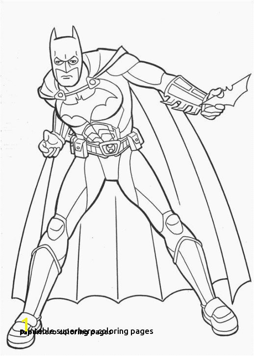 Superhero Coloring Pages Superheroes Printable Coloring Pages Superhero Coloring Pages 0 0d
