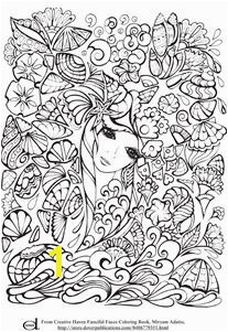 Adult Coloring Pages Mermaid