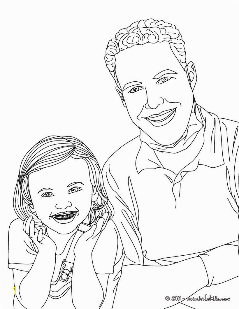 Dentist and kid with dental braces coloring page Amazing way for kids to discover job More original content on hellokids