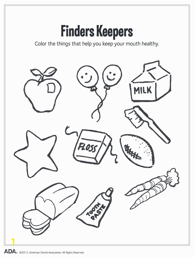 Finders Keepers Coloring Cache Valley Pediatric Dentistry
