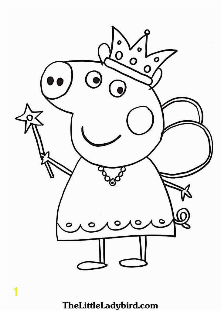 Peppa Coloring Pages Awesome Peppa Pig Coloring Pages Elegant Luxury New Od Dog Coloring Pages