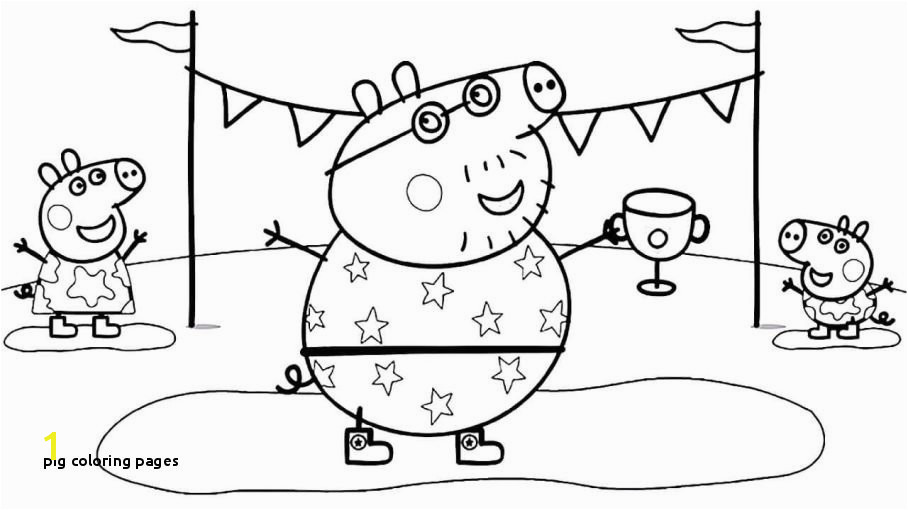 18beautiful Peppa Pig Coloring Sheets Clip arts & coloring pages