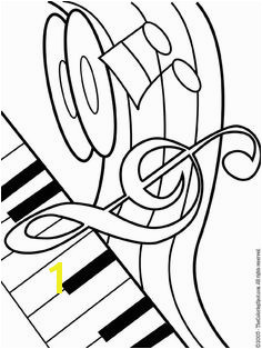 musical theme printable coloring pages for kids Coloring Pages For Kids Printable Coloring Pages