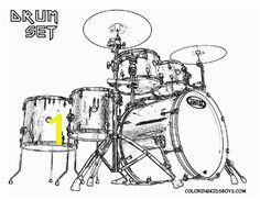 This Drums Coloring Page is very popular If I could print it out and play