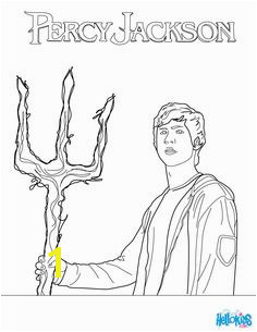 More colouring in fun with Percy Jackson click on the image to give Poseidon s son