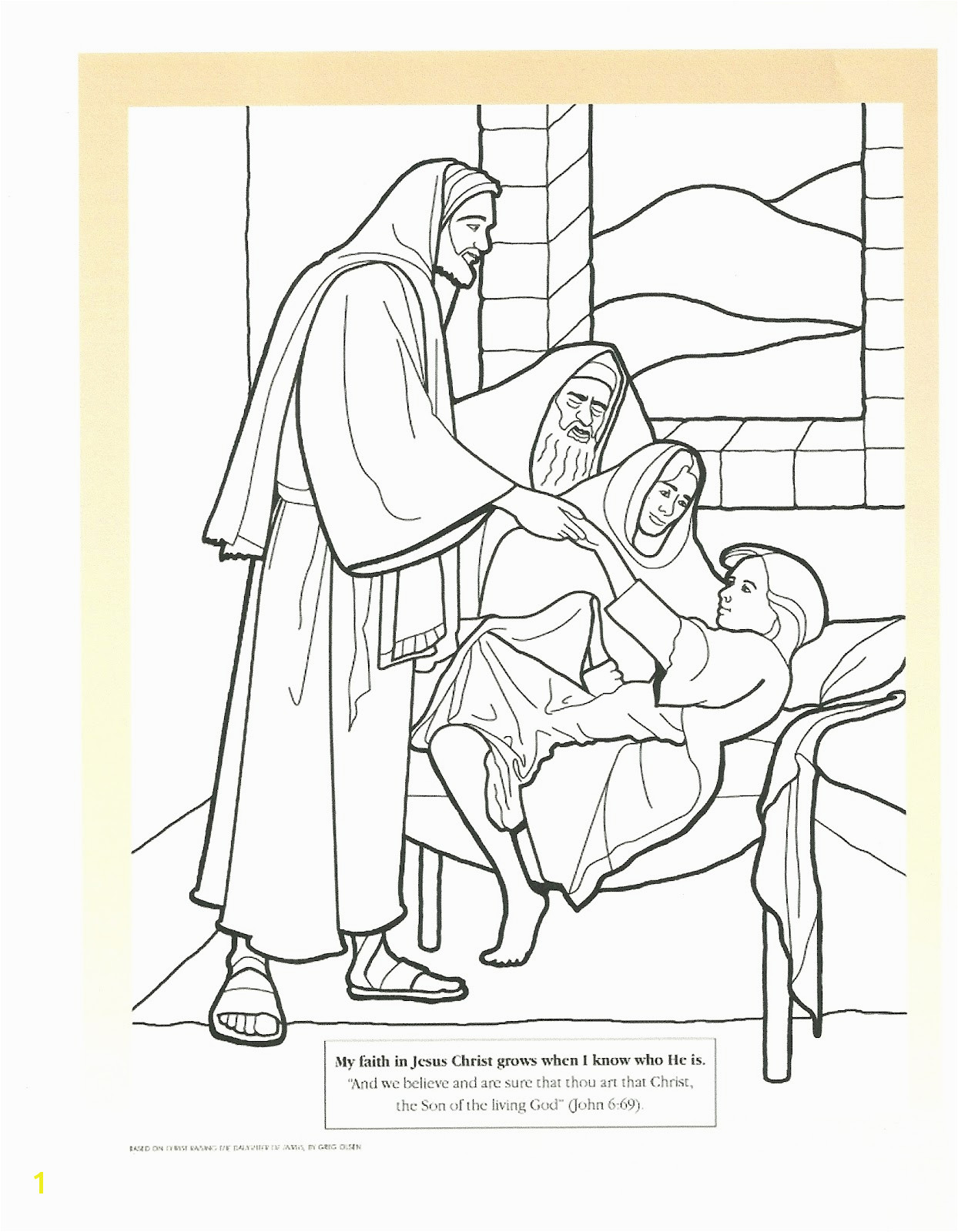 Miracles Coloring Pages
