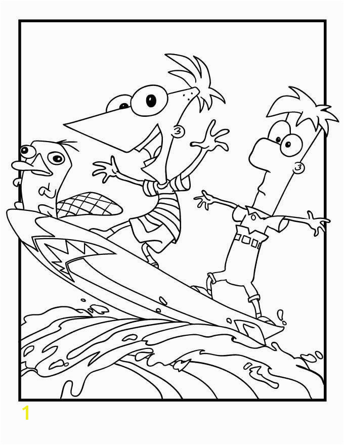 Phineas and Ferb Coloring Pages Inspirational Cool Coloring Sheets for Boys Download New D Coloring Page