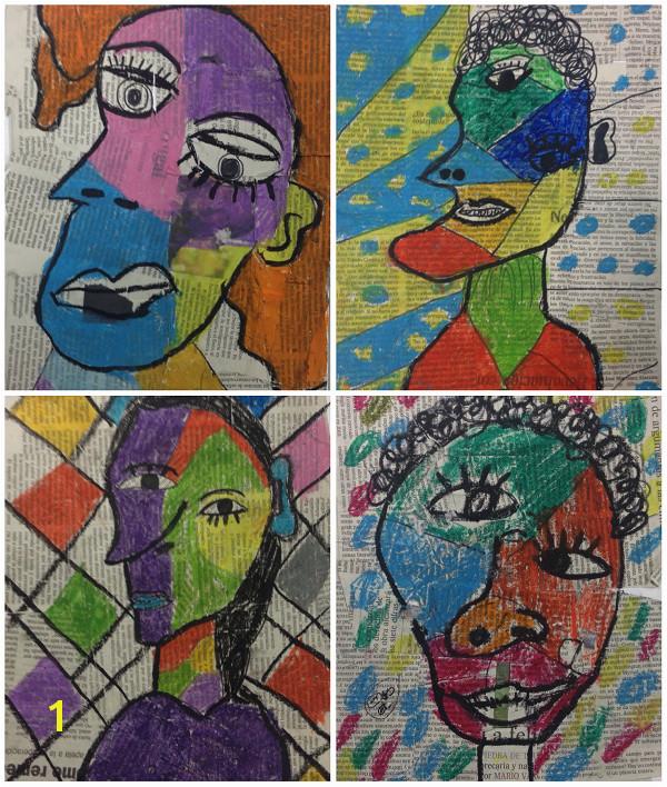 Este mes lo vamos a dedicar a conocer mejor los pintores espa±oles y hemos enzado la semana pasada con Pablo Picasso y el cubismo