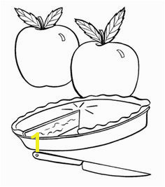 Fresh Apple Pie Coloring Page Fall Coloring Pages Coloring Pages For Kids Fresh Apples