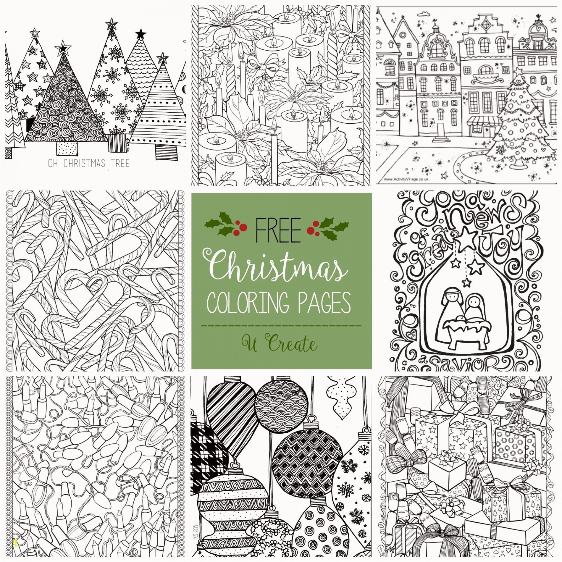 Christmas Coloring In Unique Christmas Coloring Pages Free