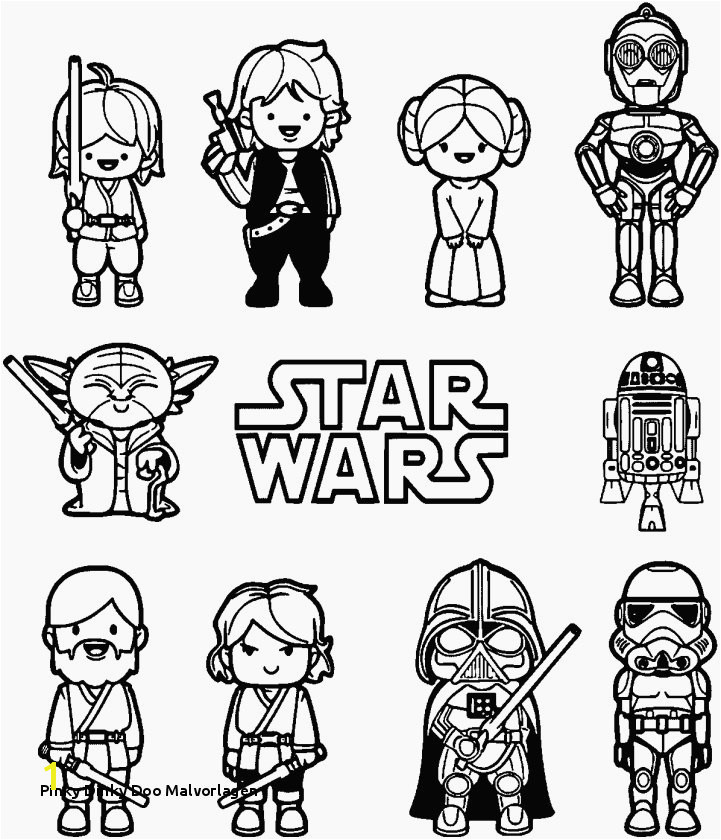 Unique Clone Star Wars Coloring Pages
