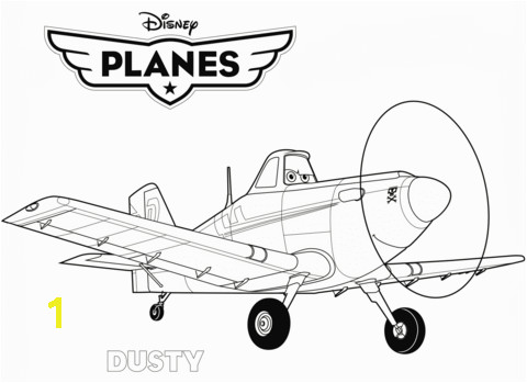 Planes Coloring Pages 2
