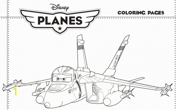 Planes Coloring Pages 5