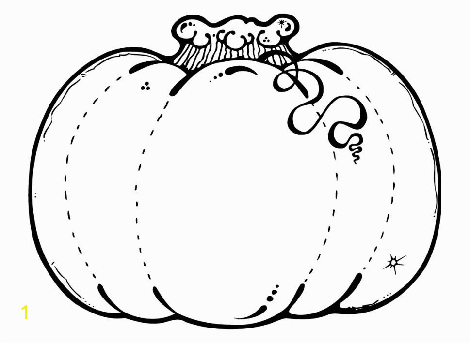 A Pumpkin Coloring Page