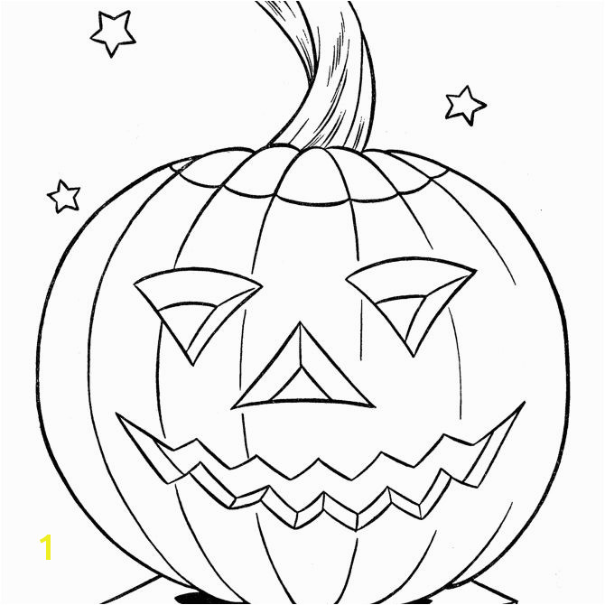 Halloween Pumpkin Coloring Pages from Raising Our Kids