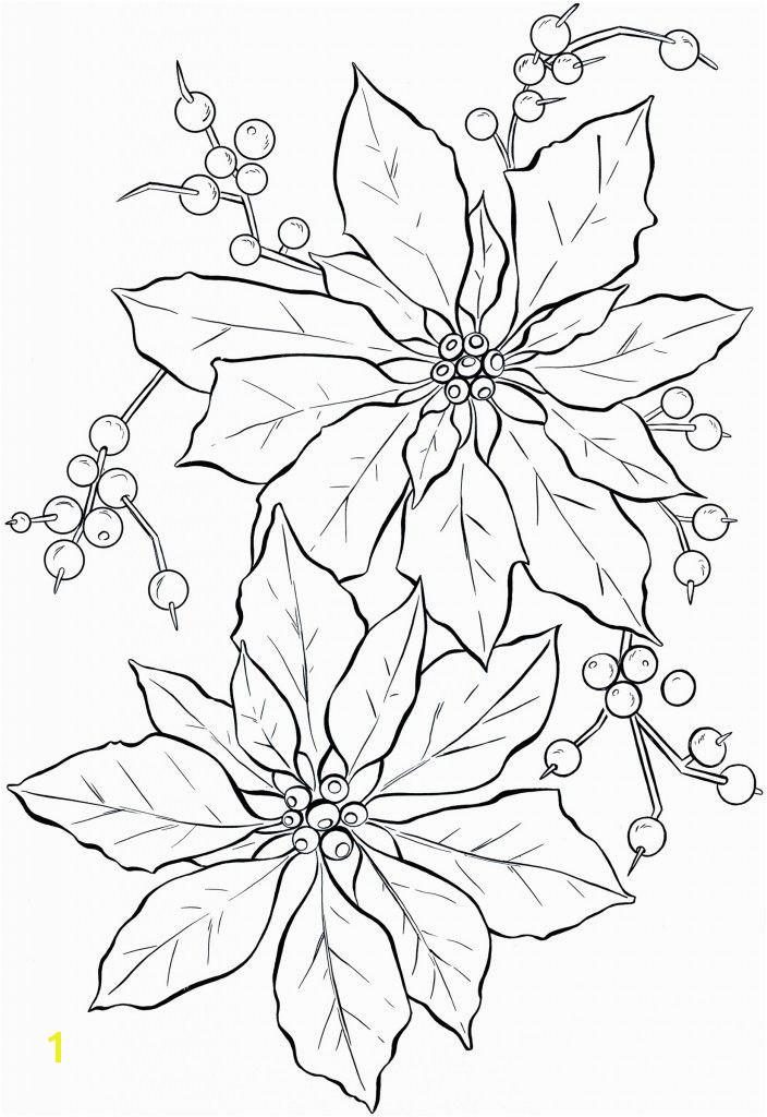 Poinsettia Coloring Page Poinsettia Line Art Christmas Card Ideas