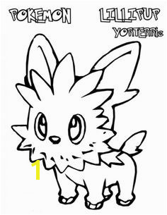 Pokemon Lillipup Coloring Pages Pokemon Coloring Pages Cartoon Coloring Pages Coloring Pages To Print
