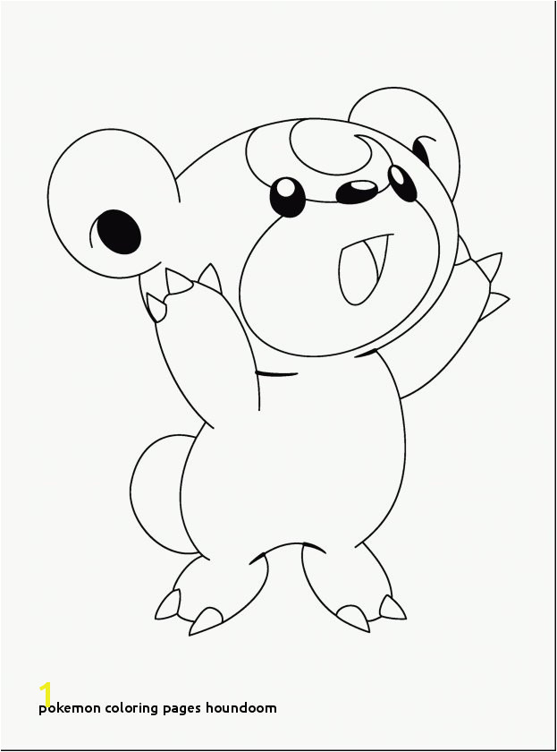 Pokemon Coloring Pages Houndoom Elegant 20 New Pokemon Coloring Pages Free Modokom