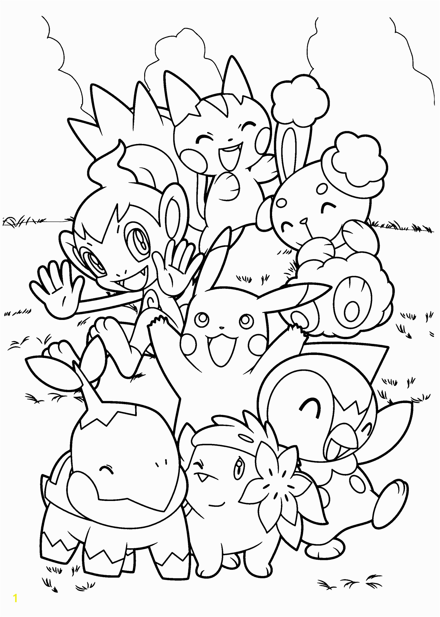 Pokemon Coloring Pages Printable Pdf top 90 Free Printable Pokemon Coloring Pages Line