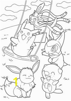 Pikachu and Eevee Friends coloring book Coloring Sheets For Boys Pokemon Coloring Sheets Coloring