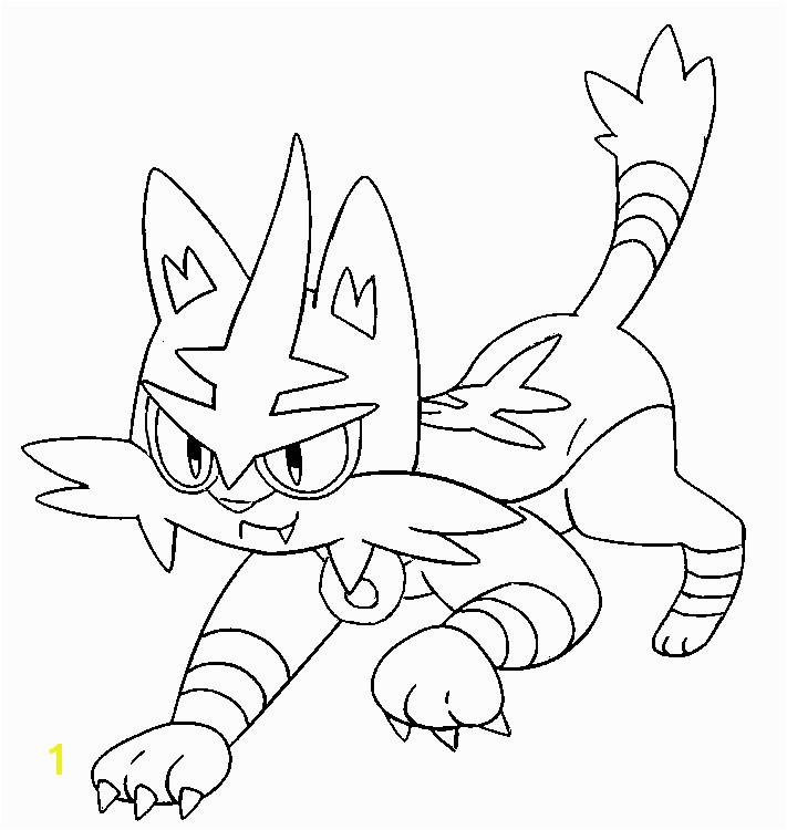 coloring pokemon sun