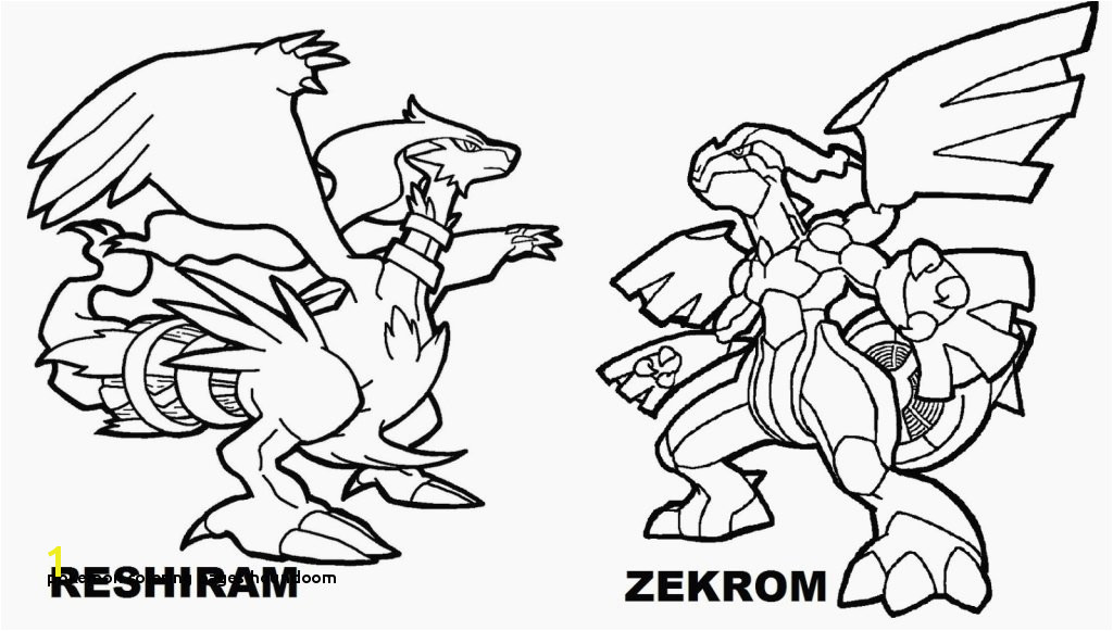 Lovely Mega Houndoom Coloring Pages