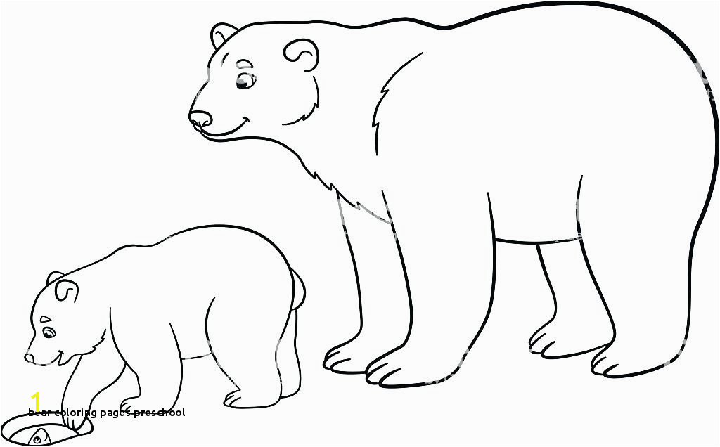 Bear Coloring Pages Preschool Bear Coloring Sheet Polar Express Coloring Sheets Polar Bear