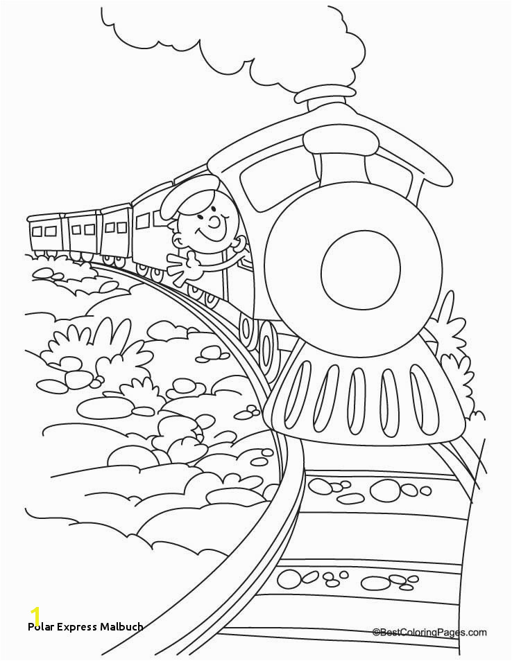 Polar Express Malbuch Polar Express Color Page Awesome Polar Express Coloring Pages