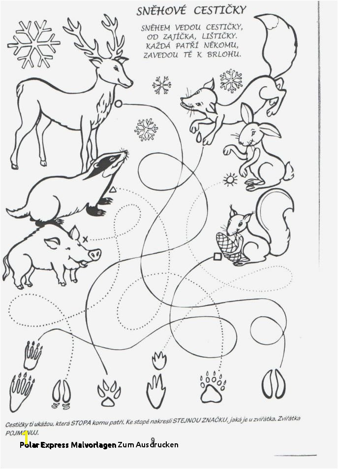 Polar Express Coloring Page Polar Express Malvorlagen Zum Ausdrucken