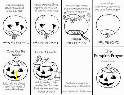 ing Alive in Christ From e Pumpkin to Another Free Printable for Christian Children