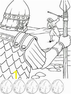 Preschool David and Goliath Coloring Page 571 Best Sunday School Coloring Sheets Images On Pinterest In 2018