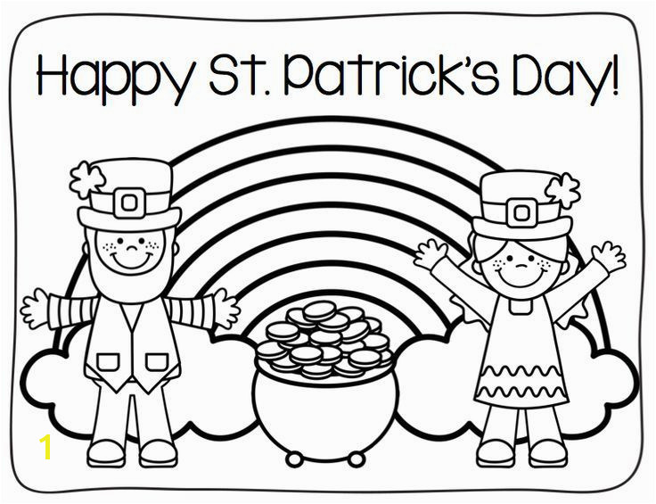 st patricks day coloring pages 9 images
