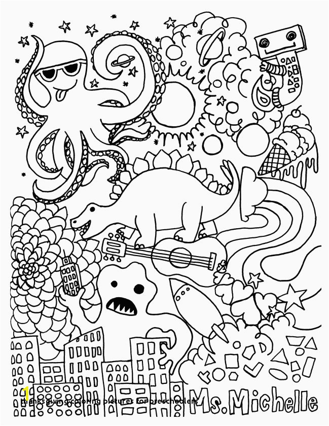 Thanksgiving Coloring for Preschoolers Thanksgiving Coloring Pages Adult Luxury Cool Od Dog Coloring Pages