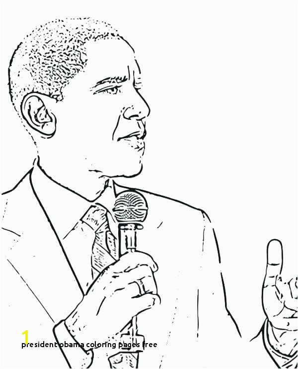 14 Inspirational President Obama Coloring Pages Free