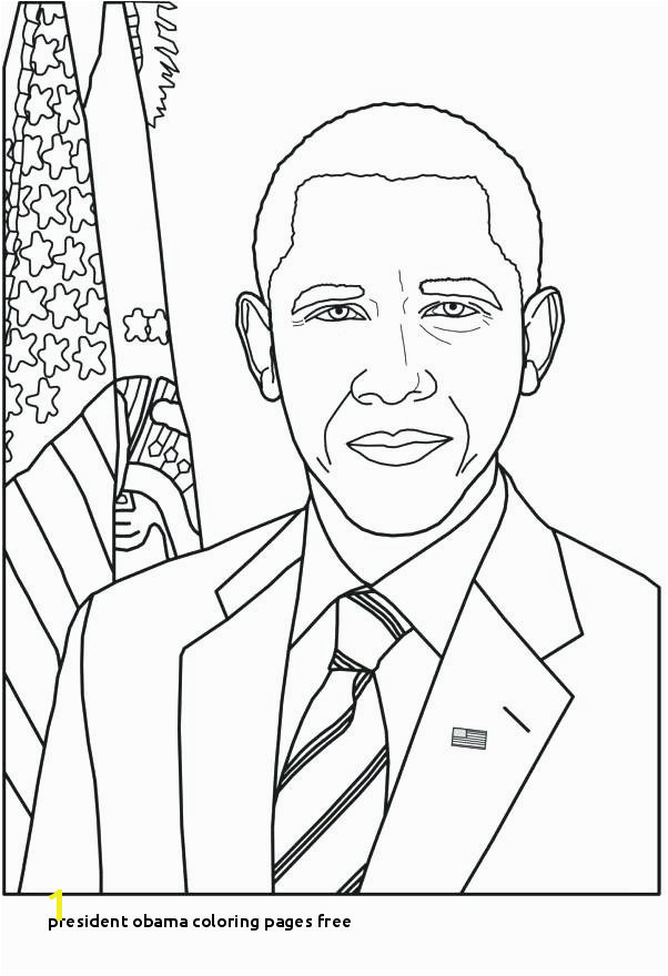 President Obama Coloring Pages Free Barack Obama Coloring Pages Coloring Pages Free Printable Coloring