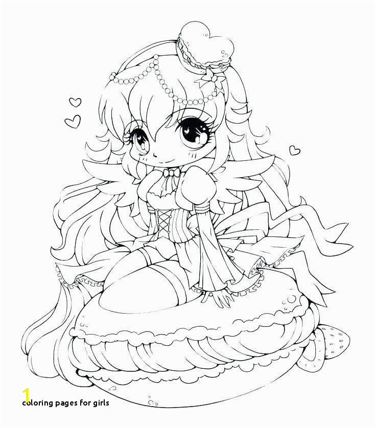 Coloring Pages for Girls Coloring Pages for Girls Lovely Printable Cds 0d – Fun Time Cute