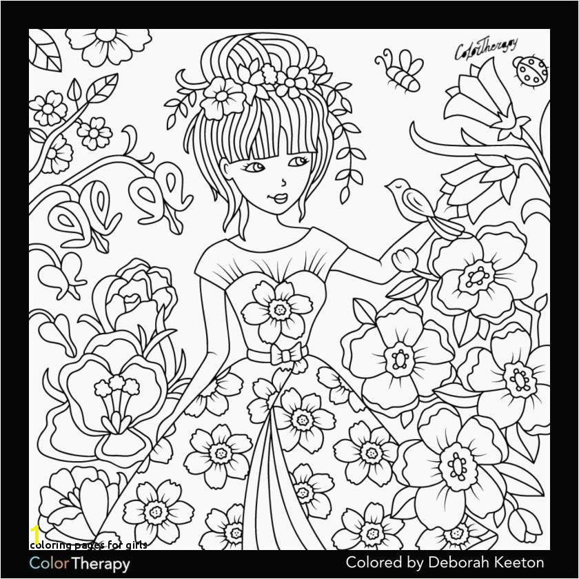 Coloring Pages for Girls Lovely Coloring Pages for Girls Lovely Printable Cds 0d Fun Time