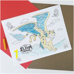 Elena of Avalor Coloring Page Kyli & Kenly coloring pages Pinterest