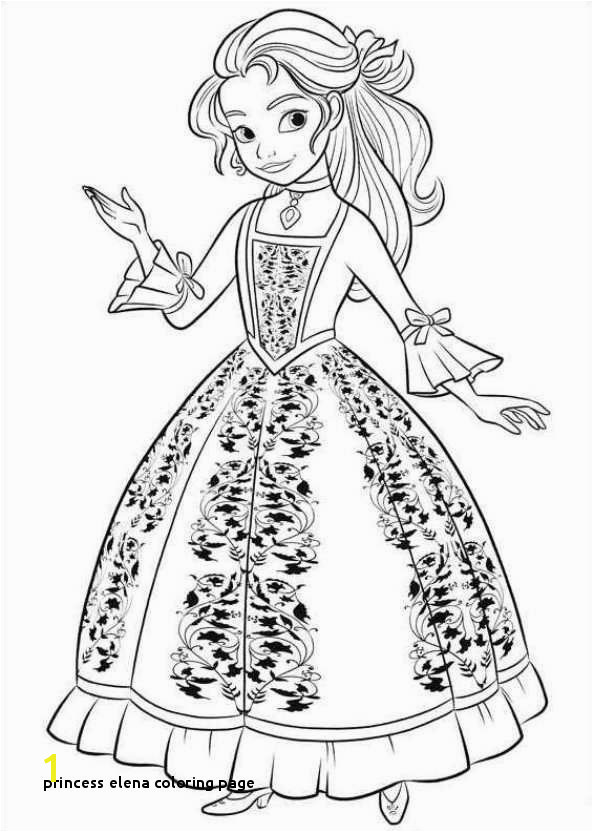 Princess Elena Coloring Page isabel Elena Avalor Colouring Pages Google Search