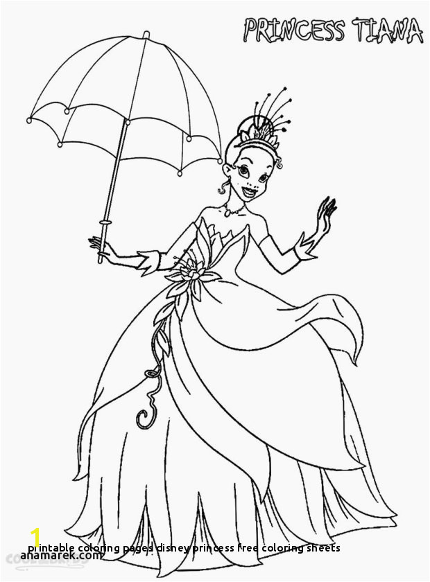 Princess Free Coloring Pages to Print 20 Printable Coloring Pages Disney Princess Free Coloring Sheets