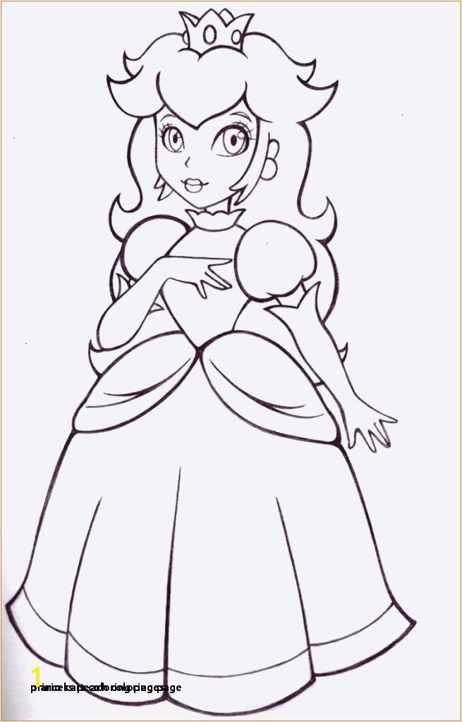 Mario Kart Coloring Pages Princess Peach Coloring Page Mario Kart Coloring Pages Baby Princess