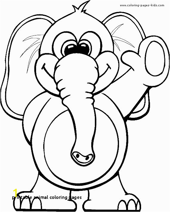Printable Animal Coloring Pages for Preschoolers Printable Animal Coloring Pages Free Kids S Best Page Coloring 0d